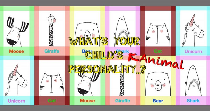 Children's 'Animal' Personality Quiz..!
